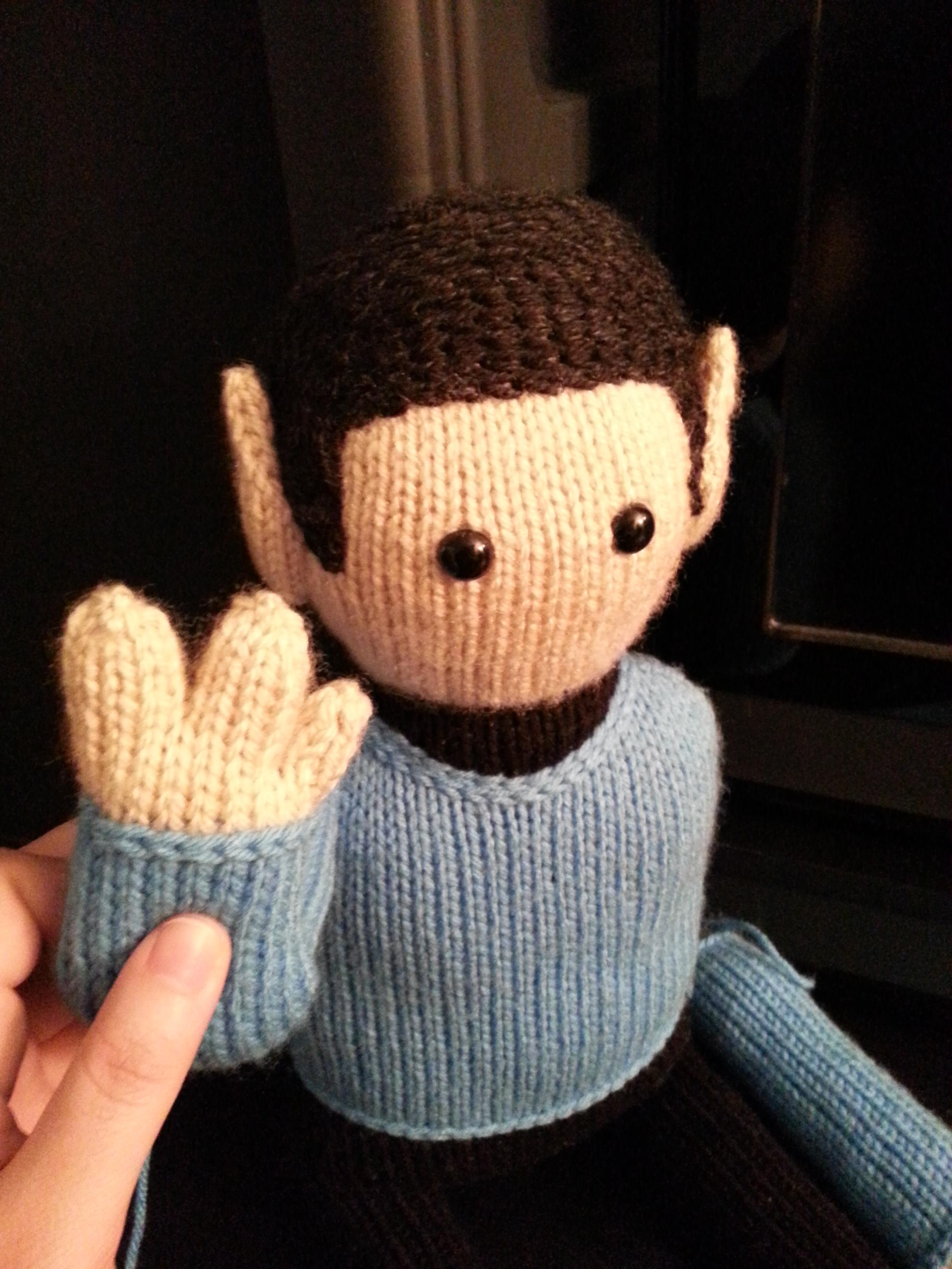 Spock Knit Doll | Wibbly Wobbly Knits